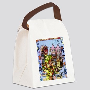 Philadelphia Mummers Parade Canvas Lunch Bag